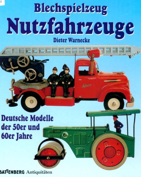 Blechspielz.Nutzfahrzeuge Deutsche Modelle 50-60er J.