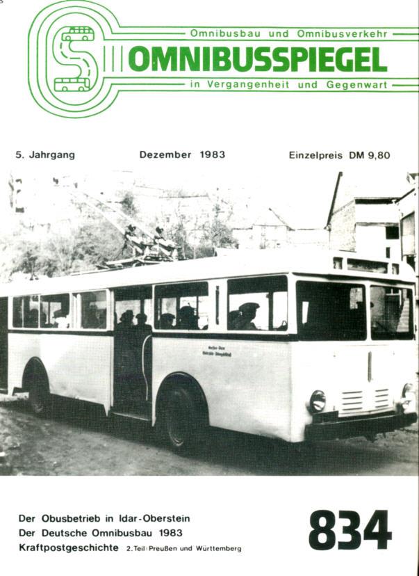 Omnibusspiegel Nr. 834