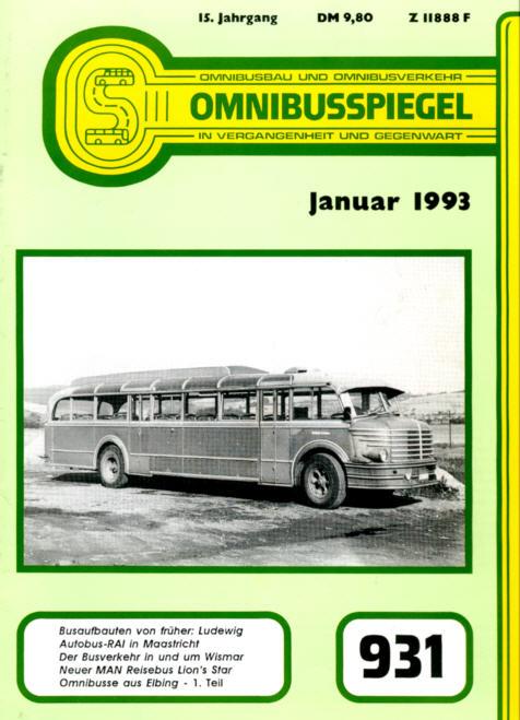 Omnibusspiegel 1993 - Nr.931-936