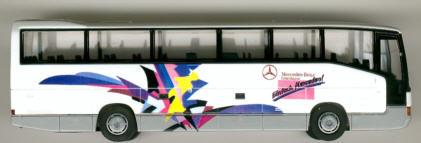 Rietze Mercedes Benz MB  O 404 RHD Mercedes Benz MB -Werbemodell