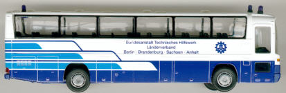 Rietze Mercedes Benz MB  O 303 15 RHD BA Techn.Hilfswerke - Berlin