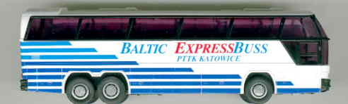 Rietze Neoplan-Cityliner Baltic-Express,Katawice  PL