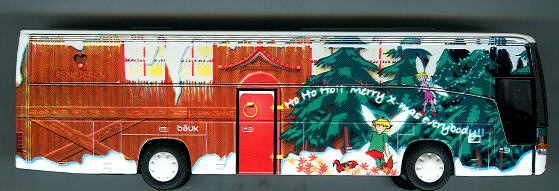 Rietze Van Hool T9 Beuk -Weihnachtsbus- (NL)
