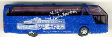 Rietze Neoplan-Starliner 1. Fabrikverkauf 14.12.96