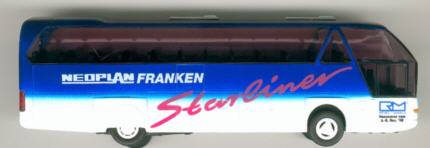 Rietze Neoplan-Starliner Neoplan Franken/RM-Hausmesse