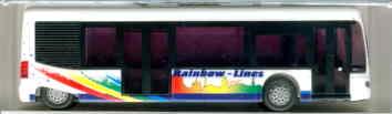 Rietze Mercedes Benz MB  Cito Rainbow-Lines,Mannheim