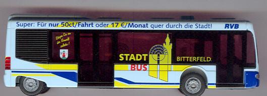 Rietze Mercedes Benz MB Cito Stadtbus Bitterfeld