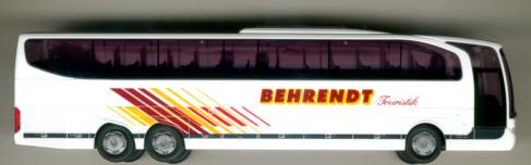 Rietze Mercedes Benz MB  Travego 3-achs. Behrendt,Lehnin