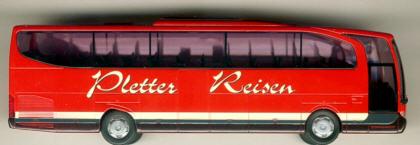 Rietze Mercedes Benz MB  Travego 2-achs. Pletter-Reisen,Wien