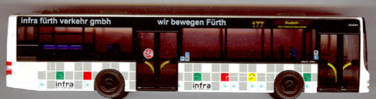 Rietze MAN Lion's City infra Fürth