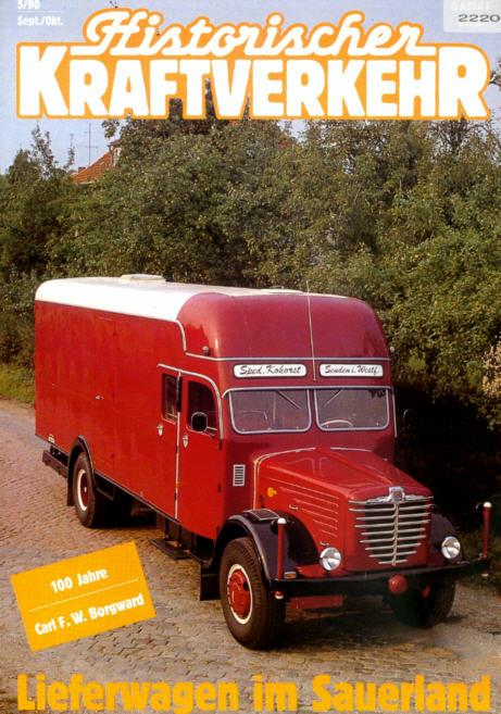 Historischer Kraftverkehr 5/90 Borgward