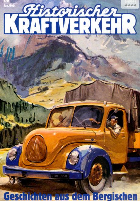 Historischer Kraftverkehr 1/91 Ford,Neoplan