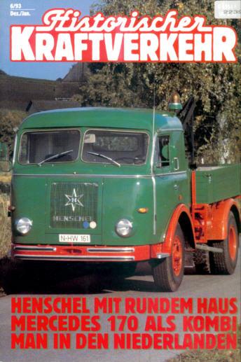 Historischer Kraftverkehr 6/93