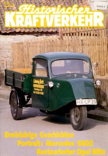 Historischer Kraftverkehr 2/94