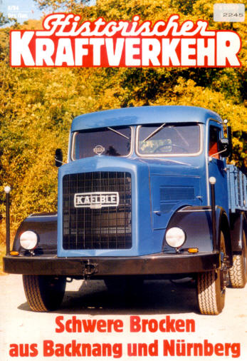 Historischer Kraftverkehr 6/94
