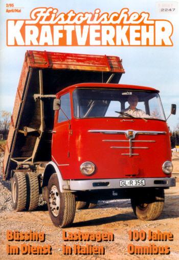 Historischer Kraftverkehr 2/95
