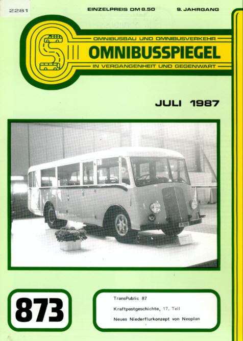 Omnibusspiegel 873