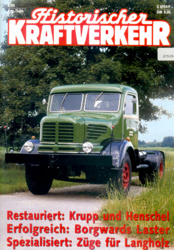Historischer Kraftverkehr 4/95