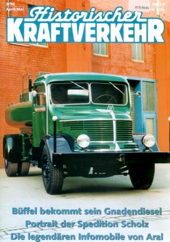 Historischer Kraftverkehr 2/96