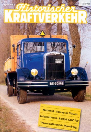 Historischer Kraftverkehr 2/97