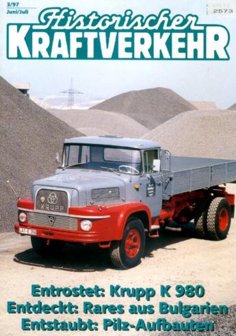 Historischer Kraftverkehr 3/97