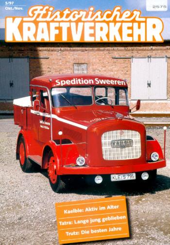 Historischer Kraftverkehr 5/97