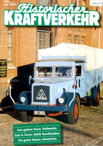 Historischer Kraftverkehr 1/98