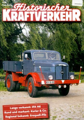 Historischer Kraftverkehr 4/98