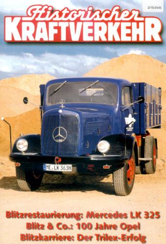Historischer Kraftverkehr 4/99