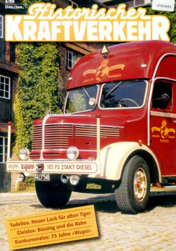Historischer Kraftverkehr 6/99