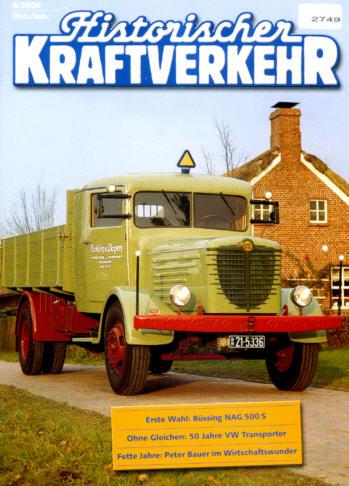 Historischer Kraftverkehr 6/2000