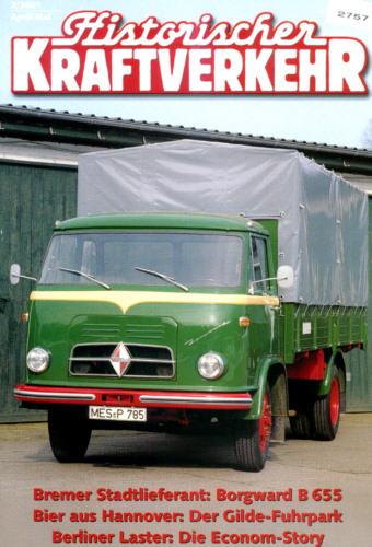 Historischer Kraftverkehr 2/2001