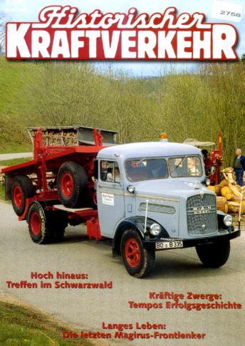 Historischer Kraftverkehr 3/2001