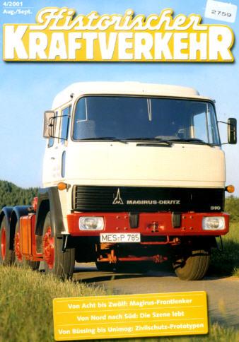 Historischer Kraftverkehr 4/2001