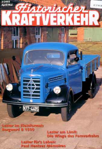 Historischer Kraftverkehr 2/2003