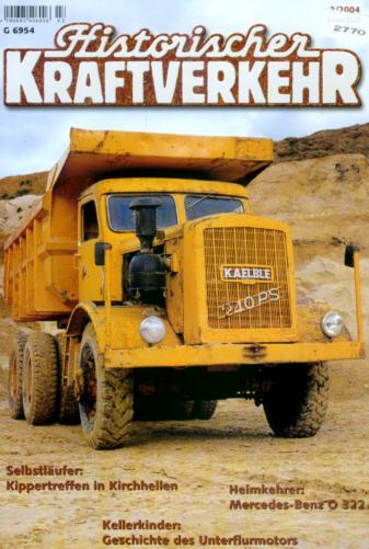 Historischer Kraftverkehr 3/2004