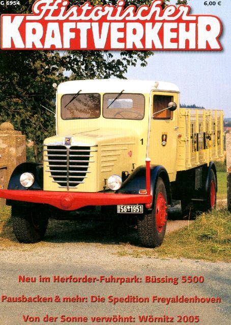 Historischer Kraftverkehr 5/2005