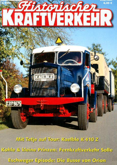 Historischer Kraftverkehr 6/2005