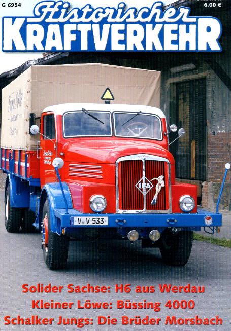 Historischer Kraftverkehr 5/2006