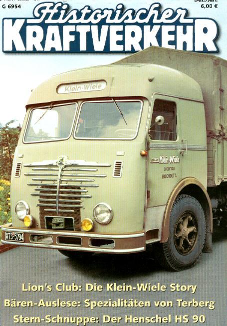 Historischer Kraftverkehr 4/2006
