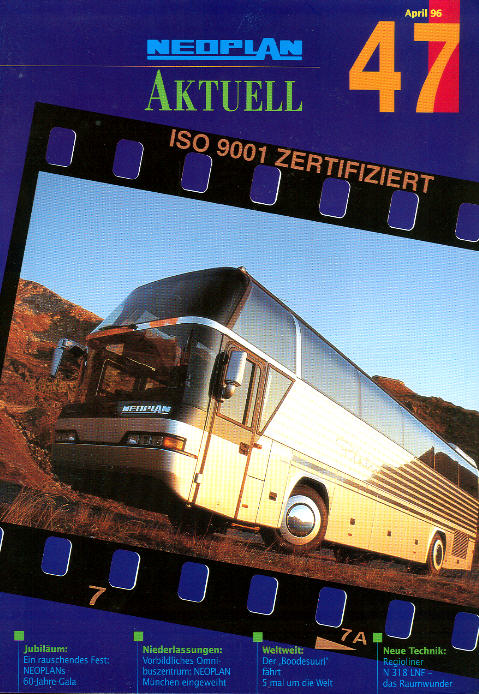 Neoplan - Aktuell 47/1996 Hauszeitschrift