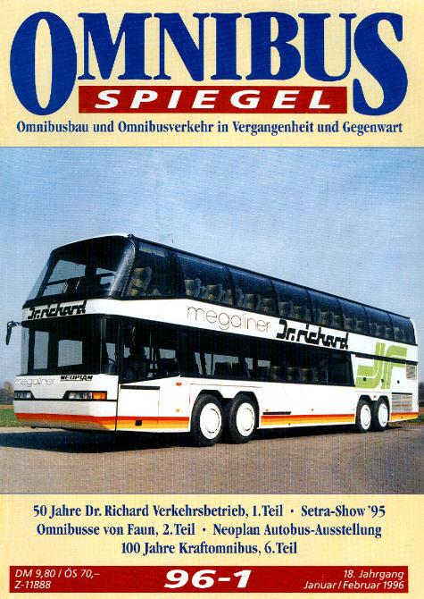 Omnibusspiegel 96/1-96/5 = 5 Hefte 1996