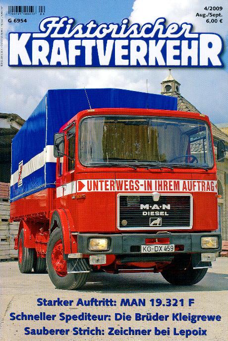 Historischer Kraftverkehr 4/2009