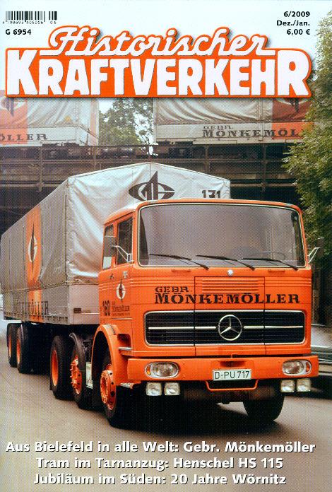 Historischer Kraftverkehr 6/2009
