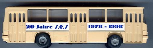 SES Ikarus 260 20 J.SES/Spielwarenmesse '98