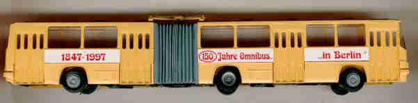 SES Ikarus 280 Gelenkbus 150 Jahre Omnibus in Berlin