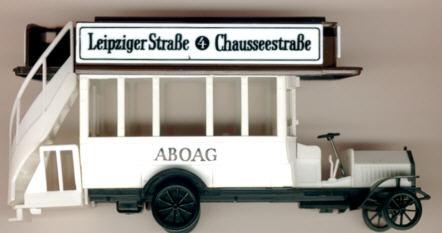 SES/mini car Daimler 1905 ABOAG/Leipz./Chausseestr.