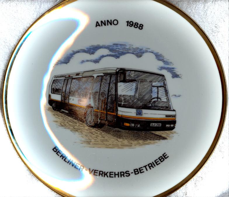 Omnibus-Wandteller BVG
