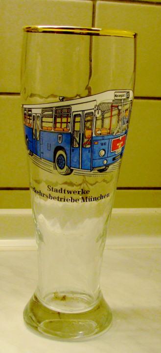 Omnibus-Bierglas VB München