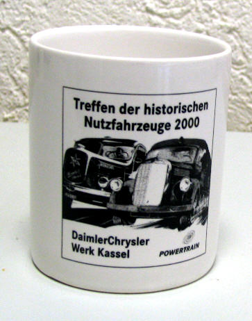 Kaffeetasse Treffen der historischen Nutzfahrzeuge 2000/Kassel